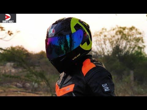 2a29c510 My New AGV K3 SV Helmet Unboxing, Review Pinlock 70 Visor Change #Helmets @Dinos