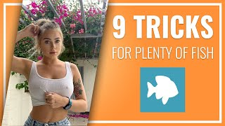 PLENTY OF FISH TIPS FOR MEN & GUYS: How You'll Get A Date Quick!