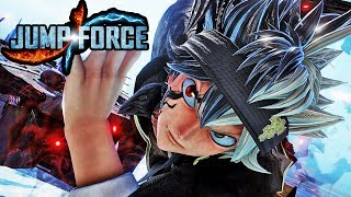 JUMP FORCE - NEW ASTA GAMEPLAY SCREENSHOTS! Black Clover Character Gameplay Screenshots HD