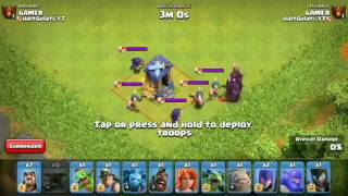 Guard Post Level 8 Vs All Troops in clash of clans360p