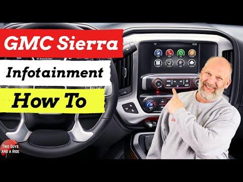Infotainment How To 2019 Sierra Denali Youtube