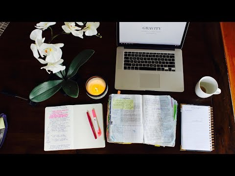 Bible Study Routine / Morning Quiet Time Walkthrough (Updated)