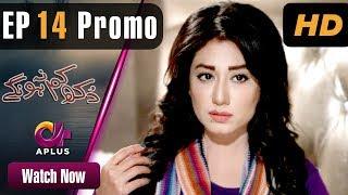 Pakistani Drama | Dukh Kam Na Honge - Episode 14 Promo | Aplus Dramas | Saba Faisal, Nadia, Babar