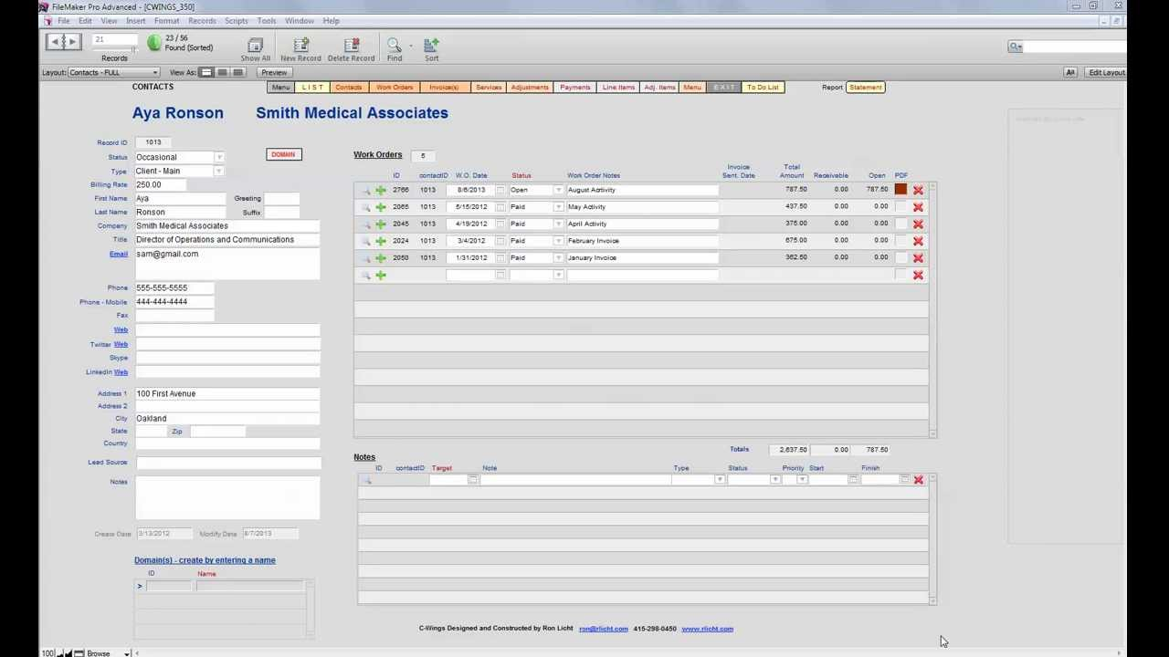CWINGS Time Tracking Billing YouTube - Timekeeping and invoicing software