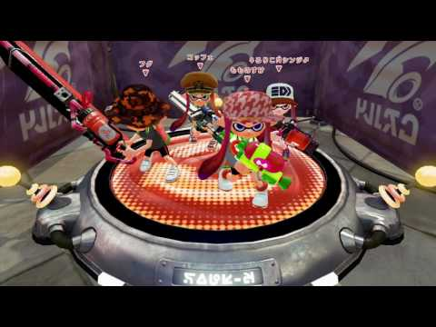 Splatoon Quad Squad with Jmoya, Rappa (Jip), & DarkAura