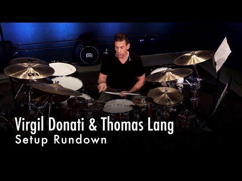Virgil Donati & Thomas Lang Setup Rundown