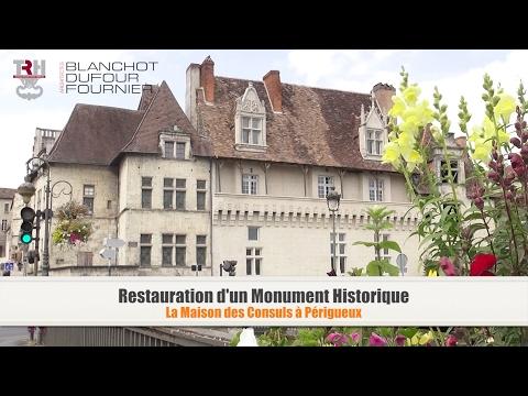 Restauration d'un Monument historique - La maison des consuls à Périgueux