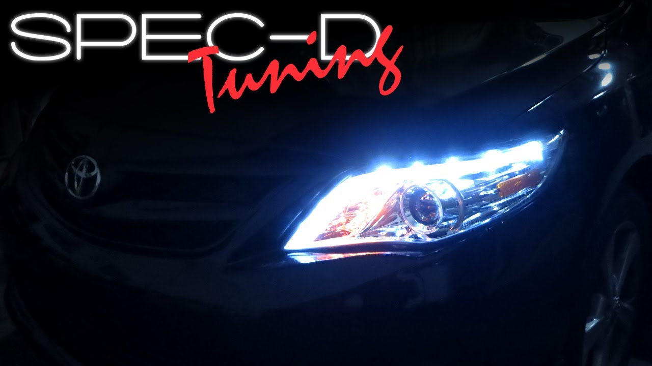 Specdtuning Installation Video 2011 Toyota Corolla