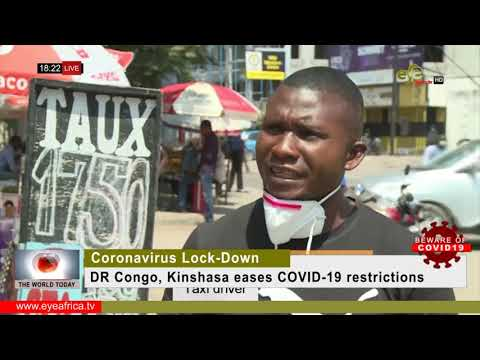 DR Congo, Kinshasa eases COVID 19 restrictions