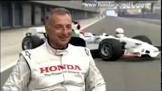 Riccardo Patrese - Honda F1 Test