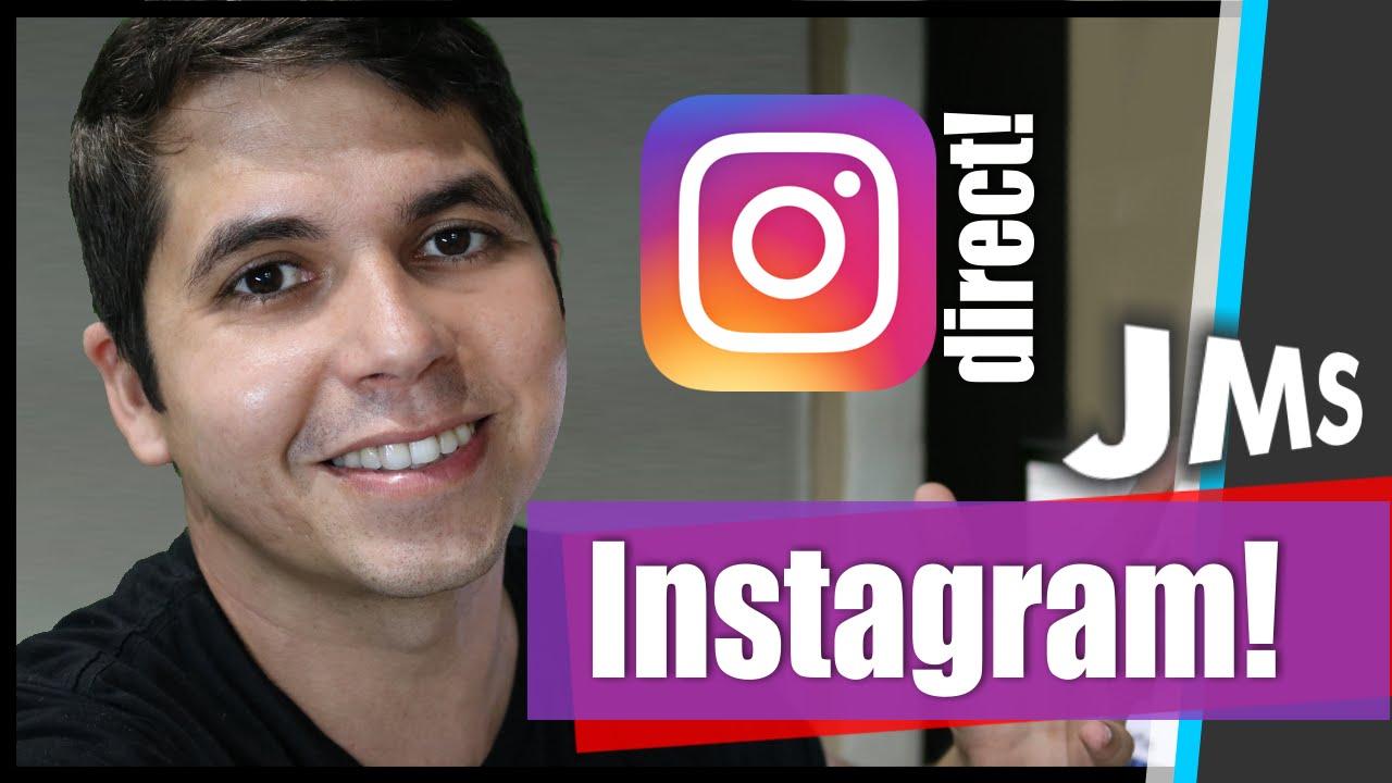 Recuperar direct instagram iphone