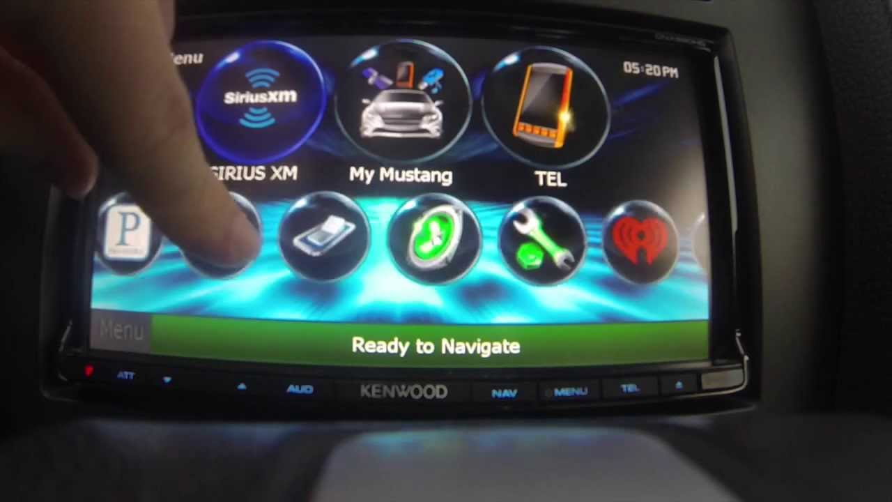 Total Oem Mustang Radio Integration Kenwood Dnx 890hd