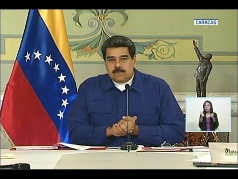 Maduro presenta a ANC nueva Ley de Ilícitos Cambiarios y entrega bloque de Faja del Orinoco al BCV