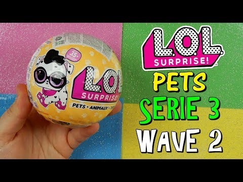 APRO LOL SURPRISE PETS SERIE 3 WAVE 2! Iolanda Sweets