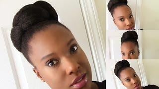 high puff   100 kanekalon jumbo braid for 1 99 hair   4c natural hair