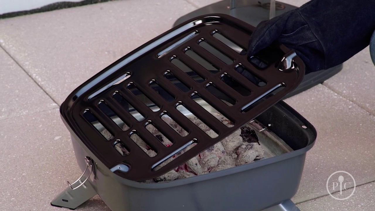 New Pampered Chef Indoor Outdoor Portable Grill