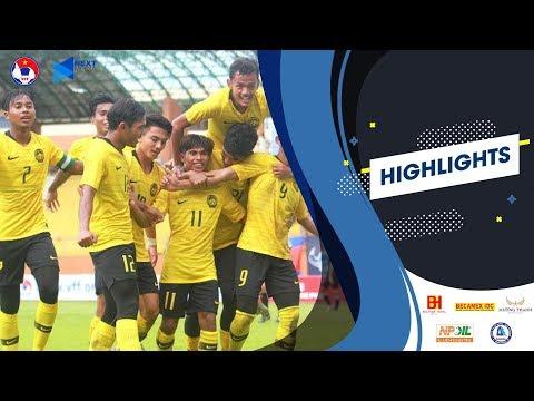 Highlights   U18 Malaysia - U18 Indonesia   7 bàn thắng kịch tính   VFF Channel