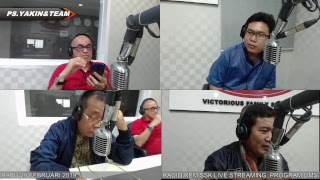 Live Streaming REM-SSK RADIO: PROGRAM DMS/ RABU 20 FEBRUARI 2019/ HOST: PS.YAKIN&TEAM