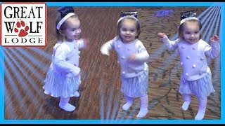 NEW YEARS DANCE PARTY AT GREAT WOLF LODGE INDOOR WATER PARK!!
