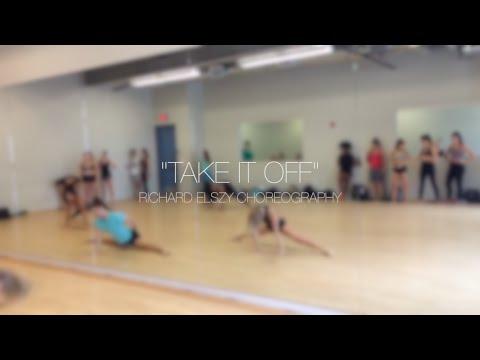 Take It Off | JAZZ 3 | Edge Performing Arts Center | Richard Elszy Choreography