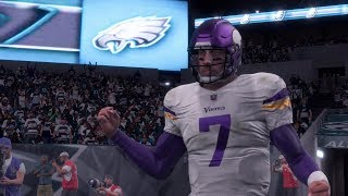 2018 NFL NFC Championship Game - Minnesota Vikings vs Philadelphia Eagles Full Game (Madden 18)