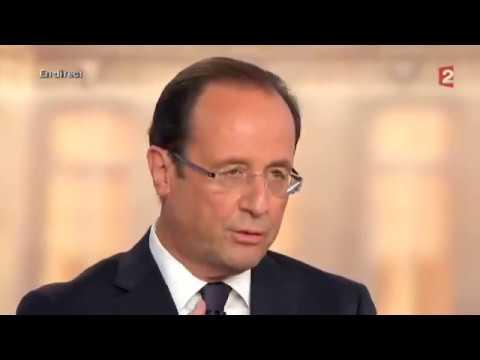 """Hollande : """"Moi président de la République..."""""""