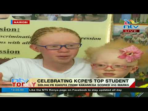Top KCPE candidate, Goldalyn Kakuya's full speech
