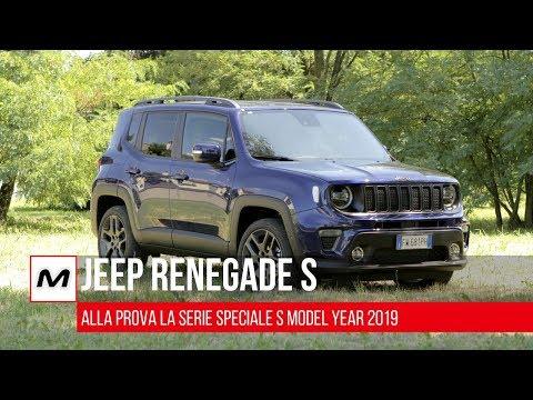 Jeep Renegade S 2019   Prova su strada con il Multiair 3 da 180 CV