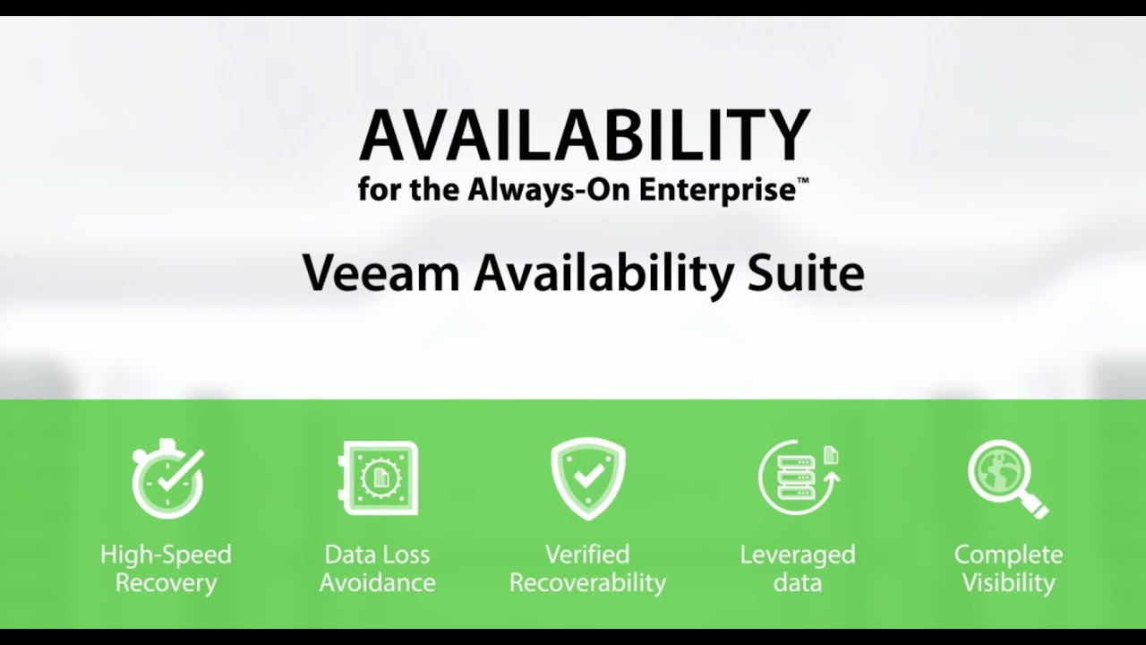 Veeam Backup & Replication Enterprise for VMware