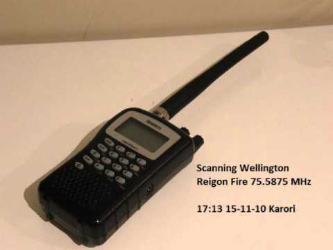 Scanning Wellington Region Fire 75.5875 MHz
