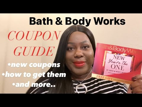 BATH & BODY WORKS 2020 COUPON GUIDE | ALL ABOUT COUPONS!!!