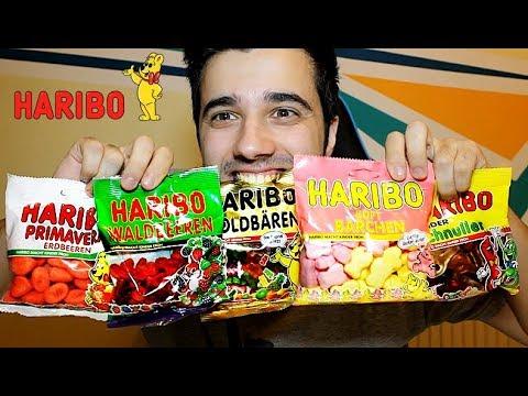 ÎNCERC AROME DE LA HARIBO !! (CEL MAI DELICIOS CHALLENGE)