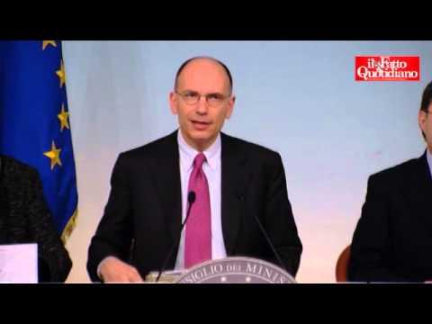 """Enrico Letta: """"Tolleranza eccessiva con M5S"""""""