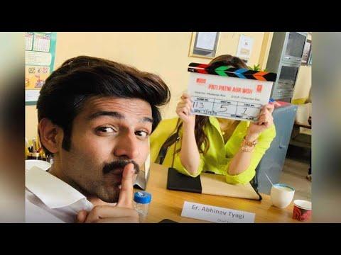 Kartik Aaryan has a special visitor on the sets of 'Pati, Patni Aur Woh' | SpotboyE Mp3