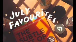 my july favourites! (beauty, klairs calming skincare, documentaries)