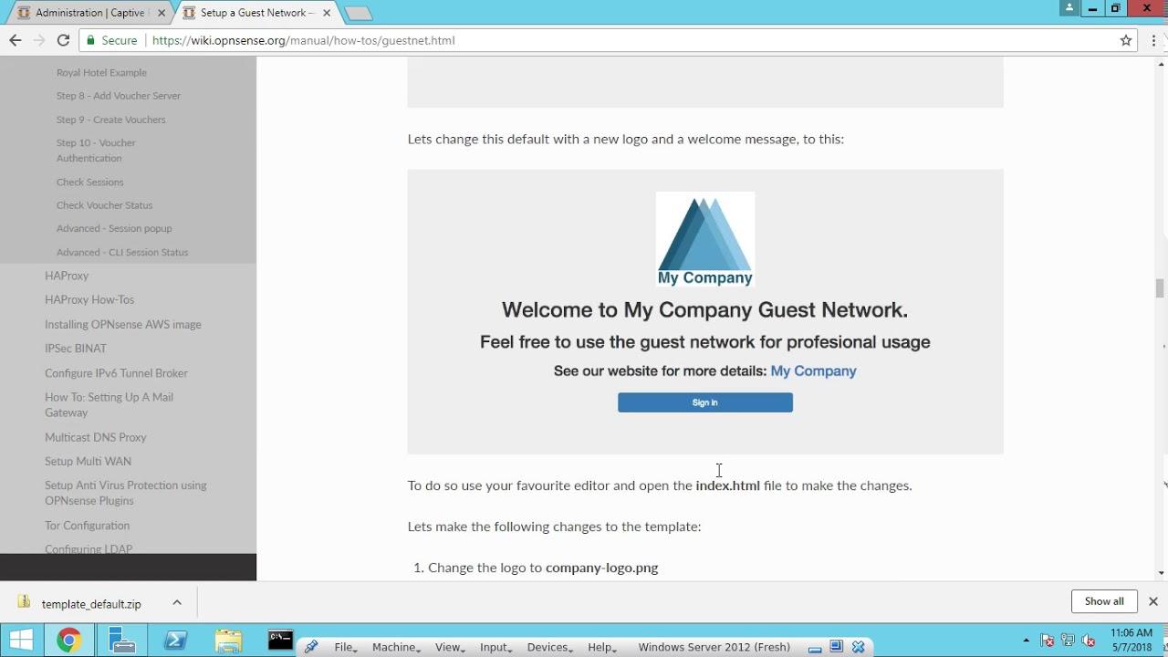 OPNsense Captive Portal with LDAP authentication Setup part 10
