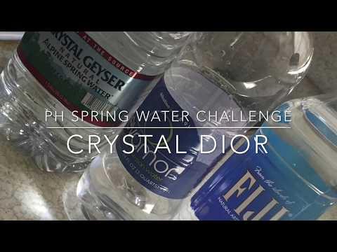 Fiji|Evamore|Crystal Geyser| PH Testing: Alkaline Vs. Acidic