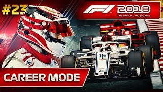 F1 2018 Career Mode Part 23: The Rise of Charles Leclerc