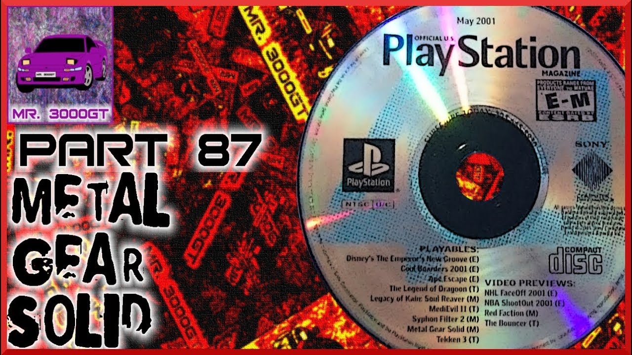 Don T Break My Fourth Wall Metal Gear Solid Psx Demo Disc Part 87 Youtube