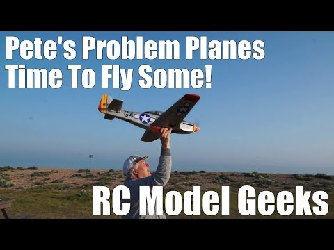 Petes Problem Planes Sunday flying RC Model Geeks