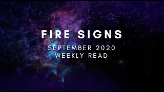 Fire Signs (Sagitarrius, Aries, Leo) Weekly Read: New Moon in Virgo