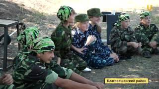 """UTV. В лагере """"Юный спецназовец"""" воспитывают патриотов"""