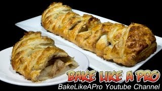 Easy Apple Danish Recipe - Puff Pastry !