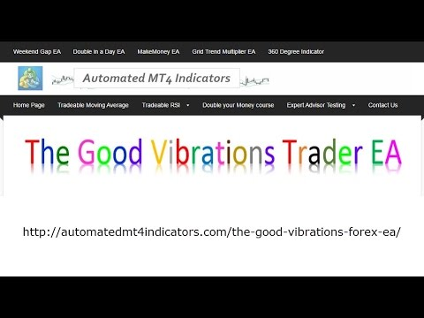 The Good Vibrations Trader MT4 Expert Advisor Trades The Zig Zag Forex Market Moves And Price Action