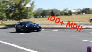 100+ MPH Corvette ZR1 Flyby