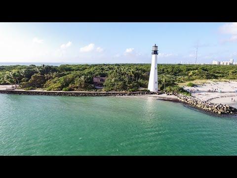 DJI Phantom 3 Pro: Key Biscayne Lighthouse in 4K