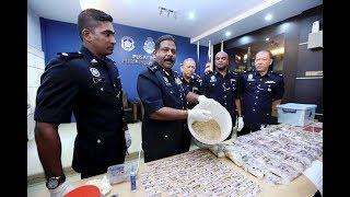 Penang police seize RM300k worth of heroin, Eramin 5, Ketamine