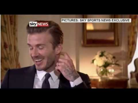 David Beckham Retirement Interview With Gary Neville