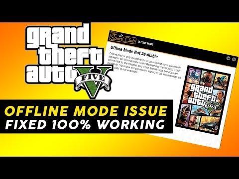 GTA V | How To Fix Offline Mode To Online Mode