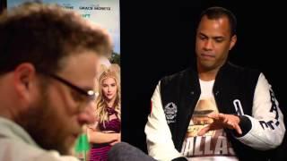 Chloë Grace Moretz & Seth Rogen Interview on BAD NEIGHBORS 2